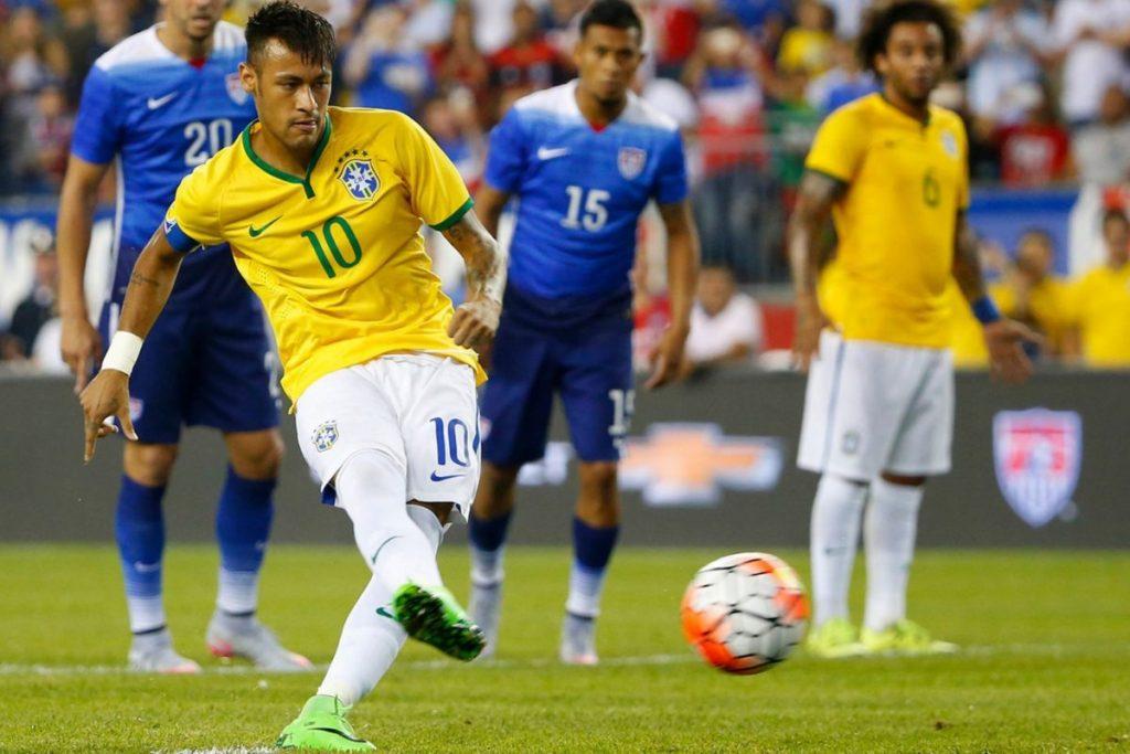 Amerika Serikat Vs Brasil